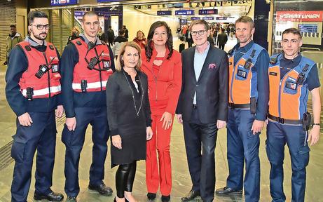 Mehr Securitys für ÖBB- und Öffi-Stationen