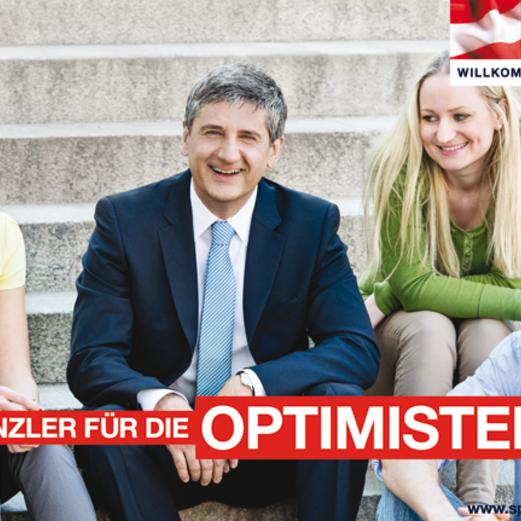 SPÖ und ÖVP starten zweite Plakat-Welle