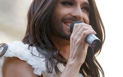 Conchita Wurst bei Gay Pride-Parade in Madrid