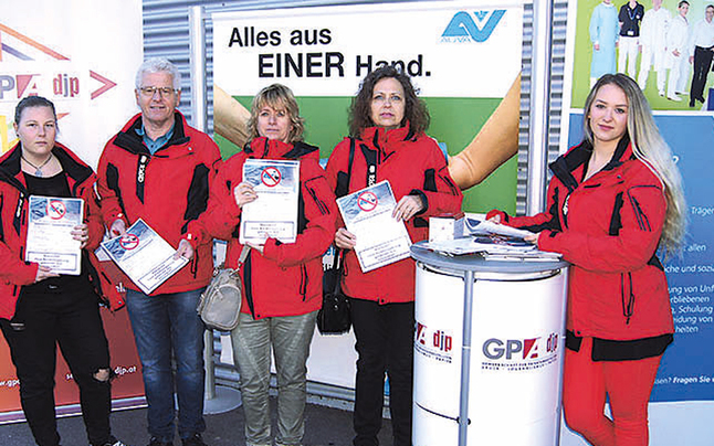 AUVA: Gewerkschaft & Betriebsrat kämpfen