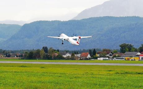 Flughafen Klagenfurt wurde neu eröffnet