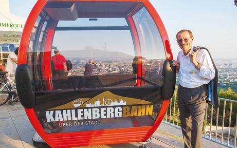 Top-Hoteliers wollen Seilbahn auf Kahlenberg