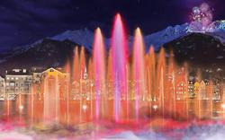 Silvester in Innsbruck: Wassershow statt Feuerwerk geplant