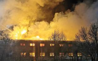 Nach Brand läuft Wiederaufbau