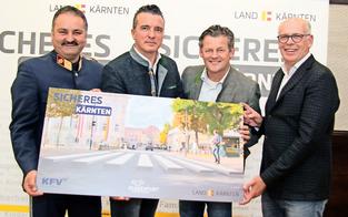 Zebrastreifen in 3D zieren schon bald Klagenfurt