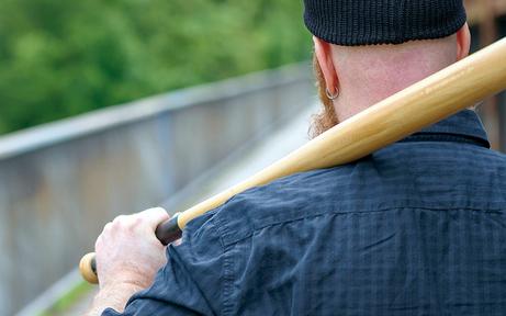 Wiener bedrohte Polizisten mit Baseballschläger