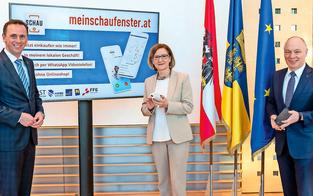 Land bietet neue Online-App für NÖ-Händler an