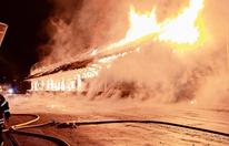 Feuerteufel fackelte Bahnhof ab
