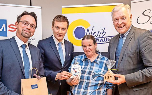 VP-Landesrat Martin Eichtinger und AMS-NÖ-Chef Sven Hergovich