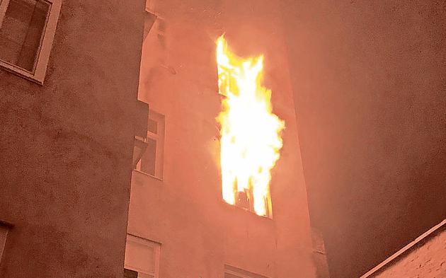 Feuer Wohnung