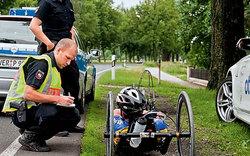 Polizei stoppt Rekord-Radler