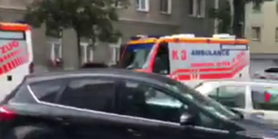 CO-Unfall Wien-Brigittenau Vater und zwei Kinder im Spital