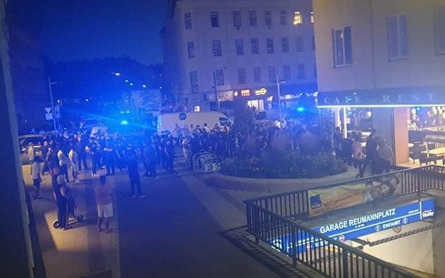 Massenschlägerei in Wien sorgt für Polizei-Großeinsatz