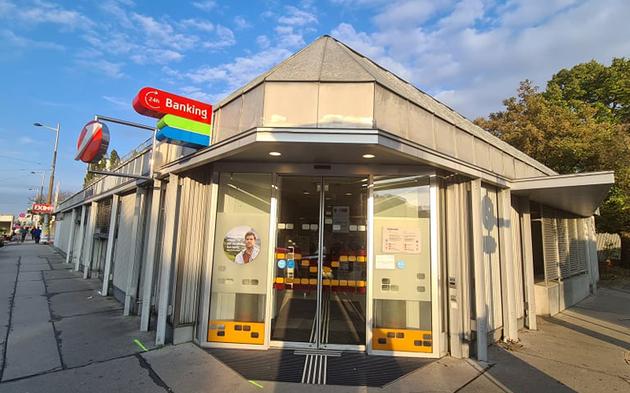 Banküberfall Brünner Straße Wien-Floridsdorf