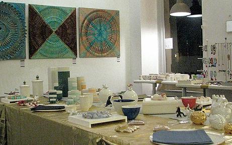 Galerie Sandpeck mit Kunst-Pop-up
