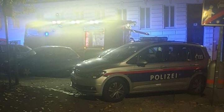 Flammen schlugen aus dem Fenster: Wohnungbrand in Wien-Hernals