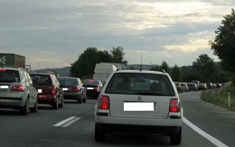 Tempo 100 auf der Westautobahn bei St. Pölten