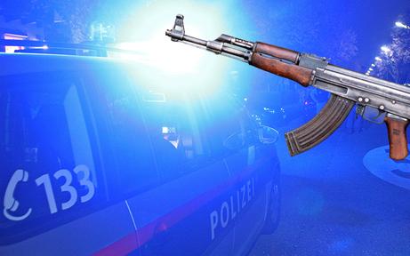 Videodreh mit Kalaschnikow-Attrappe löst Polizei-Einsatz aus