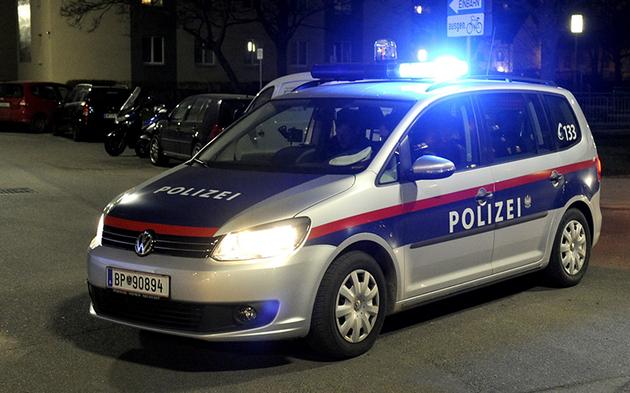 Blaulicht polizeieinsatz