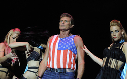 "David Hasselhoff beim ""Nova Rock 2014"""