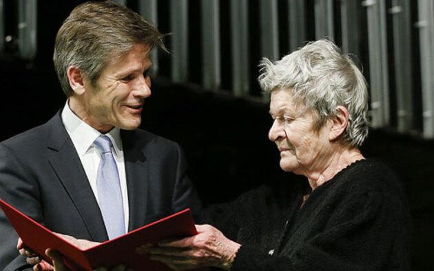 Elisabeth Orth mit Josef Ostermayer