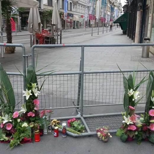 Die Bilder zur Amokfahrt in Graz