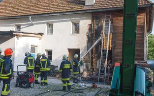 Feuerwehr fand bei Brand Hasch-Plantage