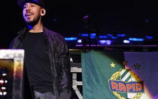 Darum rockte Linkin Park mit Rapidfahne