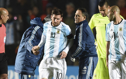 Messi verletzt ins Spital gebracht