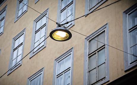 """City-Protest gegen neue """"Wok-Lampen"""""""