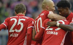 8:0! Bayern zerlegt HSV - Alaba trifft