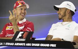 Seitenhieb: Vettel spottet über Hamilton