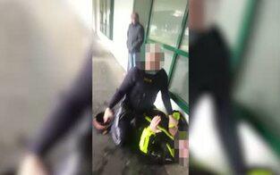 Wirbel um Video von Covid-Festnahme
