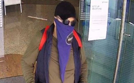 Polizei sucht diesen Bankräuber