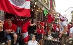 Ausnahmezustand: ÖFB-Fans in Bukarest