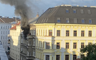 Ein Toter nach Feuer-Drama in Mariahilf
