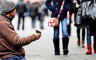 Bettler treiben immer brutaler 'ihr' Geld ein