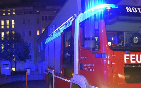 Brandstiftung: Mann fackelt seine Wohnung in Wien ab