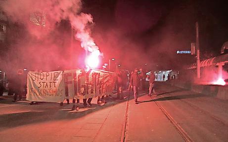Gewalt-Demo: Spur führt in Anarcho-Szene