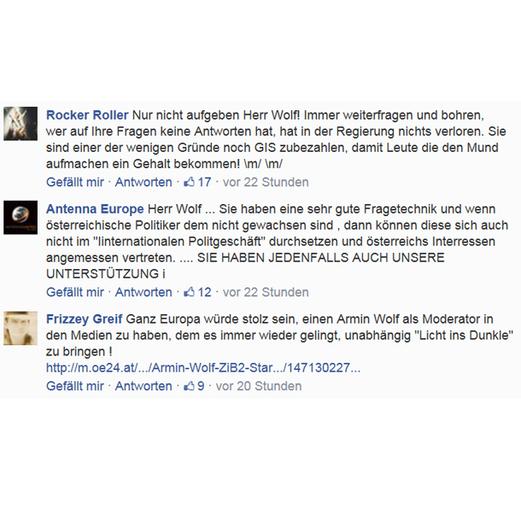 Das sagt das Netz zu Armin Wolf