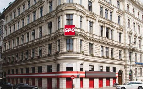 """""""Putschstand"""" vor SPÖ-Parteizentrale abgesagt"""