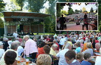 Tolles Programm auf der Bühne Donaupark