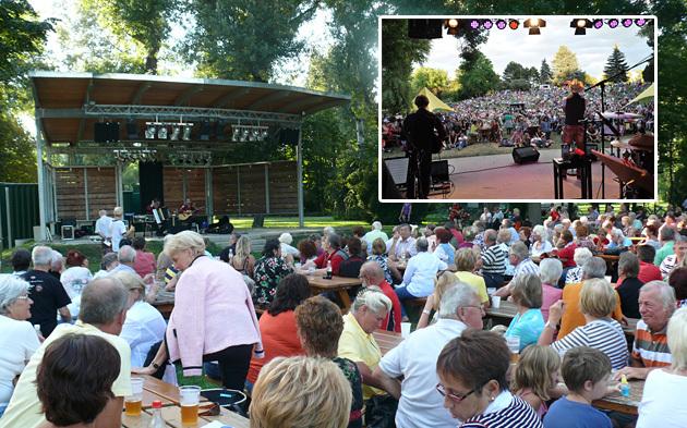 Festival Bühne im Donaupark
