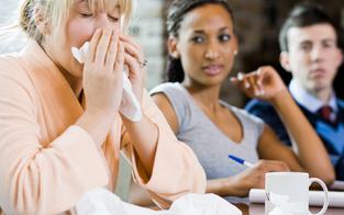 35 Prozent gehen krank zur Arbeit