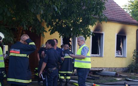 Einfamilienhaus völlig abgebrannt