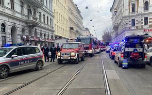 Deckeneinsturz in Wien-Brigittenau: Zwei Personen verletzt