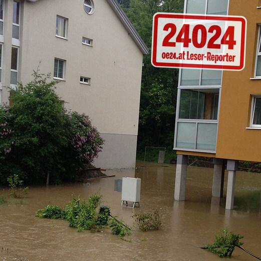 Jahrhundert-Flut: Die Fotos der oe24-Leser