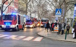 Brand in Wien-Leopoldstadt: 13-Jähriger im Spital