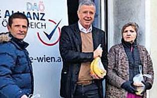 Posse um Verteilaktion von DAÖ-Partei-Manager