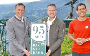 95 Jahre RAX- Seilbahn